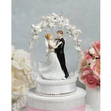 cake toppers wedding sweet flower and arch cake topper wedding cake toppers