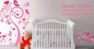 papier peint pour chambre bébé deco vitres d corations lectrostatiques et stickers papier peint