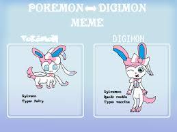 Sylveon Meme - pokemon digimon meme sylveon by awesomecat2468 on deviantart