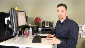 Ergonomic Sit Stand Desk by Esi Ergo Electric Sit Stand Desk The Workspace That Moves Youtube