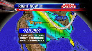 Jet Stream Forecast Map First Warn Weather Team January 2014