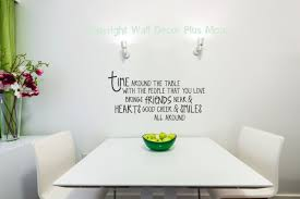 time around the table kitchen stickers quote for the dining room decor loading zoom