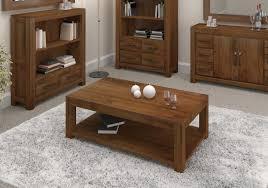 walnut coffee table with storage 6406