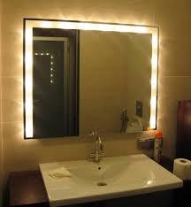 bathroom bathroom mirrors lights behind tremendous picture