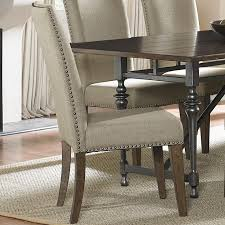 side chairs for dining room liberty furniture ivy park upholstered side chair with nail head