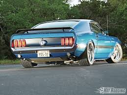 1969 mustang rear 1969 ford mustang mach 1 rod