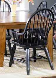 Oak Table With Windsor Back Chairs Rectangular Leg Table Oak With Hardwoods U0026 Ash Veneers In Rustic