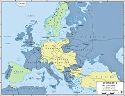 A Map Of Europe Maps A Map Of Europe Before Ww1 With Pre Roundtripticket Me