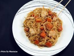 comment cuisiner les nouilles chinoises recettes de poulet mariné et nouilles