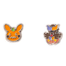 halloween earrings pokemon center 2016 pokemon halloween circus pierced earrings 2