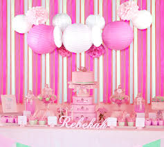 background decoration for birthday party at home 13pcs set pink theme background wedding decor paper lantern cut out