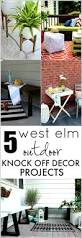 West Elm Patio Furniture by West Elm Bench Knock Off Home Made By Carmona