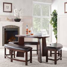home decorators collection nassau 4 piece cherry dining set 405315