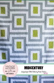 Midcentury Modern Wallpaper 1302 U2013 Midcentury Quilt Pattern U2013 Vintage Modern Quilts