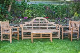 outside chair and table set teak garden bench and table set garden furniture land