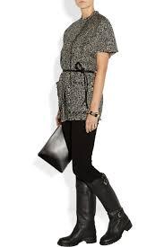 flat biker boots designer black leather flat winter mid calf boots sexyshoeswoman com