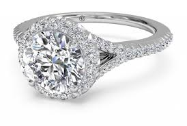 halo split shank engagement ring what is a split shank engagement ring ritani