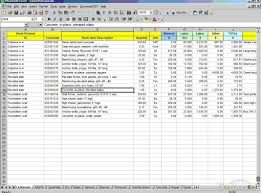 Home Plans With Cost Engrossing Art Template Excel Inventory Management Fascinate