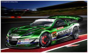 mobil balap keren mobil sport dengan tampilan keren untuk balap mobil gambar