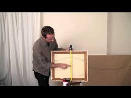 wall mounted height measure how to hang your artwork and not it up apartment therapy