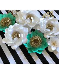 turquoise flowers amazing savings on paper flower backdrop paper flower wall