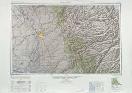 San Francisco Topographic Map by Sacramento Topographic Maps Ca Usgs Topo Quad 38120a1 At 1