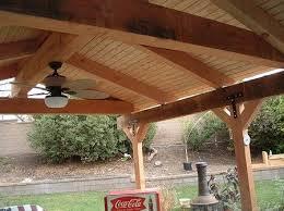freestanding porch gable roof spacious build patio cover porch