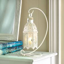 set of 10 lacy lattice and hanging stand candle lantern lamp