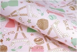 eiffel tower wrapping paper aliexpress buy pink eiffel tower wrapping paper for