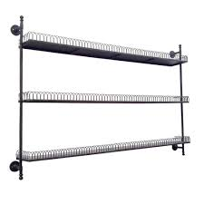 decorative shelves home depot 63 in w x 8 in d black wall mount decorative shelf fh1072 the