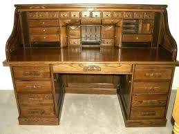 solid oak roll top desk solid oak rolltop desk quarter locking oak roll top desk with right