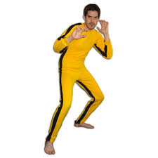bruce yellow jumpsuit yellow martial arts jumpsuit bruce of tracksuit