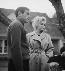Marilyn Monroe House by Marilyn With Milton Greene Outside Her House In England Marilyn