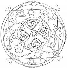 mandalas coloring pages adults justcolor 5