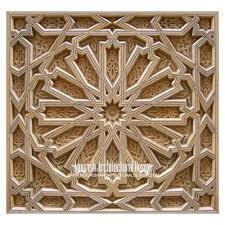 moorish carved wood panel moroccan decorative panel