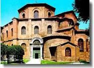 La basilica di San Vitale dall'esterno.