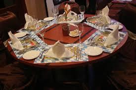 Mise En Place D Une Mise En Place D Une Table Pendant La Fête De La Bière Picture Of