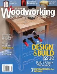 Best Canadian Woodworking Magazine by