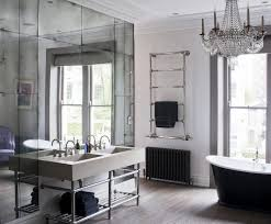 Mirrored Bath Vanity Mirrored Bathroom How To Frame A Bathroom Mirror Glamorous