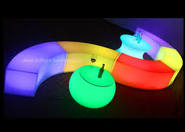 snake led light bar portable snake led light bench rechargeable for outdoor party decoration