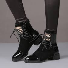 35 best boots high quality genuine leather boots images on best patent leather ankle boots products on wanelo