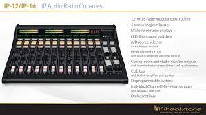digital radio consoles ip 12 radio console