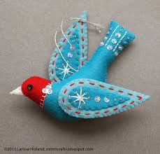 mmmcrafts snow bird ornament pattern available crafts