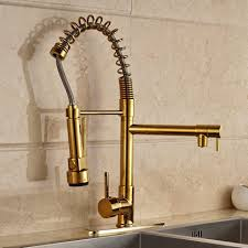 kohler brass kitchen faucets kohler kitchen faucets kohler k7506 purist single handle pullout