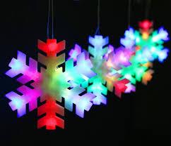 snowflake string of lights snowflake led lantern string wedding windows decorative