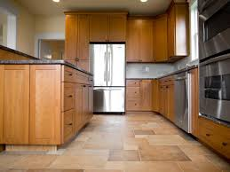 best flooring for honey oak kitchen cabinets choose the best flooring for your kitchen maple kitchen