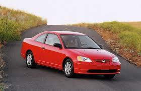 honda civic 2001 coupe honda civic even thieves want high gas mileage