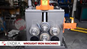 endra wrought iron machines line youtube