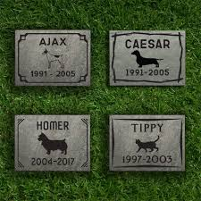 slate pet memorial small structural slate with design