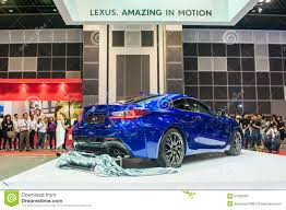 lexus singapore new lexus rc f at the singapore motorshow 2015 editorial image